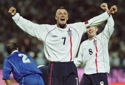 Other England players like David Beckham were never given this kind of opportunity for a send-off