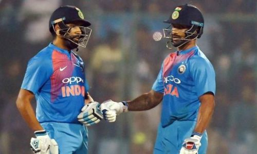 Rohit and Dhawan in good form is good news for Team India