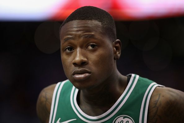 Rozier has started just once for the Celtics this season