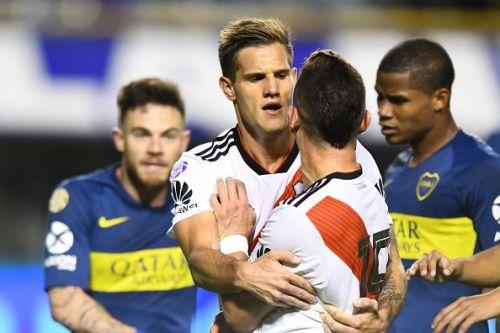 Boca Juniors take on rivals River Plate in the Copa Libertadores final