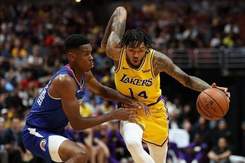 Ingram was the Los Angeles Lakers' first pick in the 2016 NBA draft
