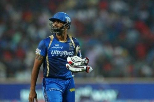 Stuart Binny was unable to hit big shots in the death overs for RR