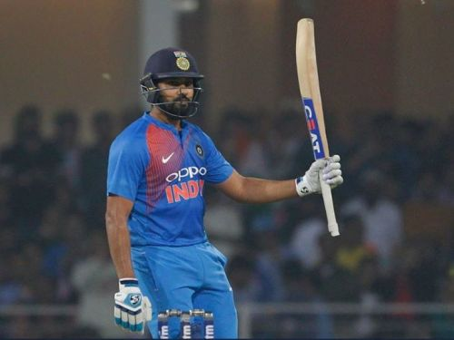 Rohit became the first player to hit four T20I centuries