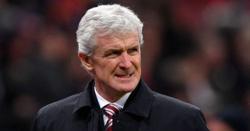 Mark Hughes is not getting good results.