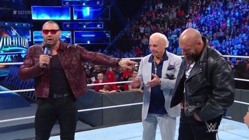 Triple H vs. Batista was an anticipated affair!