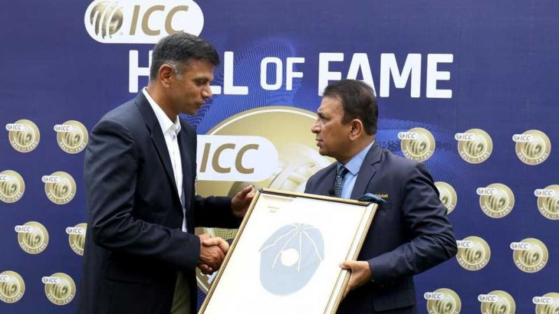 Last month, Rahul Dravid became the fifth Indian to join the list. (image courtesy - zee news)