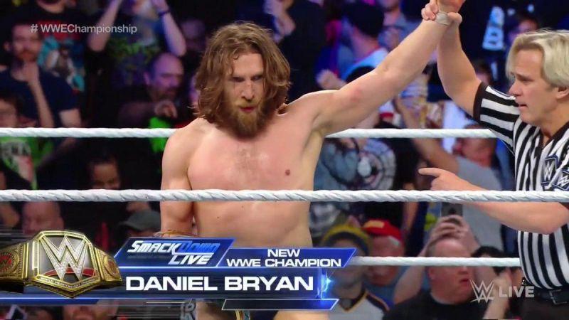 The era of Daniel Bryan has just begun on SmackDown Live