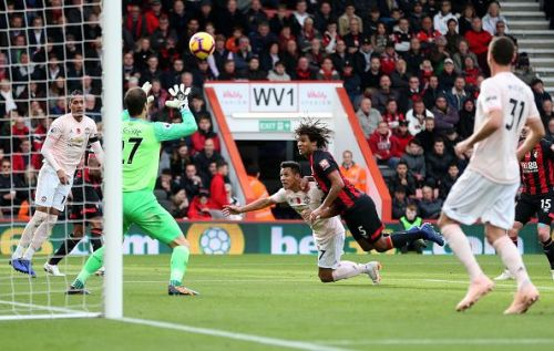 Nathan Ake kept a faltering Manchester United attack at bay for all but two moments in the game, and that cost Bournemouth.