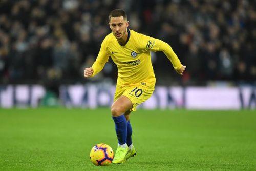 Eden Hazard is the second highest scorer in the Premier League (7 goals)