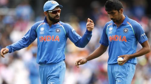 India's premier ODI cricketers - Virat Kohli and Jasprit Bumrah