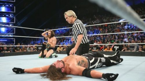 Daniel Bryan won the WWE Title off AJ Styles this week