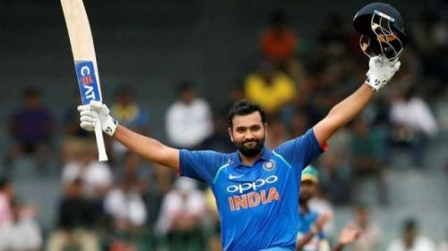 Rohit Sharma is currently at the third place in terms of most sixes in T20Is
