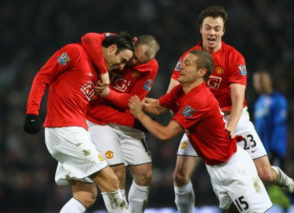 Manchester United v Middlesbrough - Premier League 2007-08