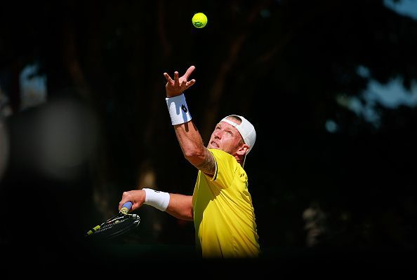 Samuel Groth recorded a 263 km/h(163.4 mph) serve but it