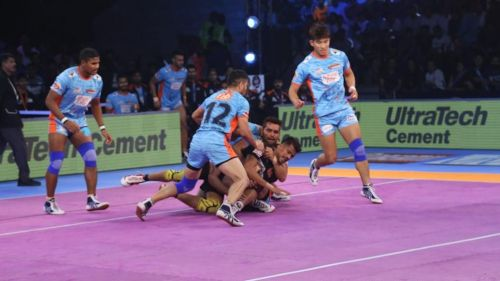 The defence of Bengal Warriors was in top form tonight