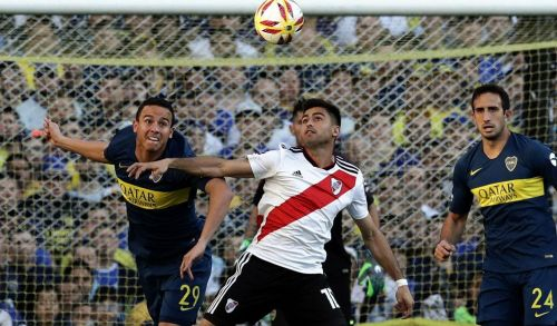 The Superclasico rivals will do battle in the Copa Libertadores final