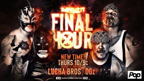 The OGz (Homicide & Hernandez) vs The Lucha Bros. (Pentagon Jr. & Fenix)