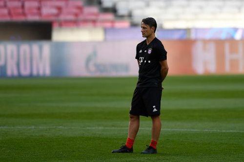 Bayern Munich training and press conference - UEFA Champions League