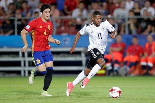 Serge Gnabry scored a goal and provided an assist for Germany