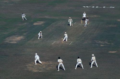 Fourth Test At Sialkot