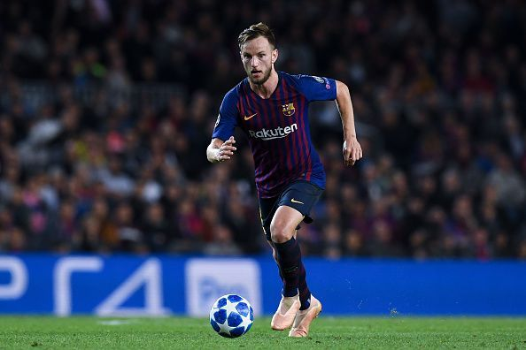 Rakitic was a real threat to opposition teams with his incredible long passes