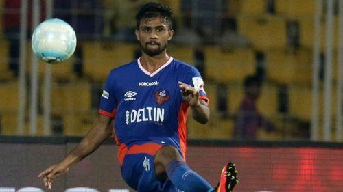 Keenan Almeida joined FC Goa in 2015