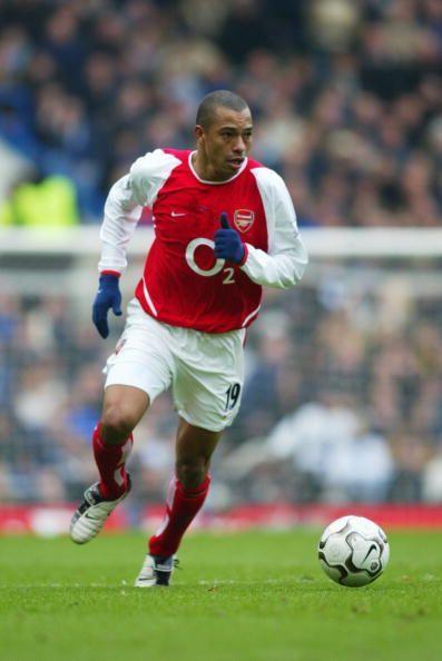 Gilberto Silva of Arsenal