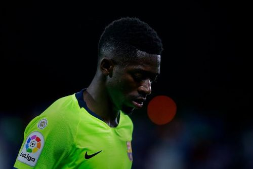 Dembele was heavily linked with a Premier League move recently