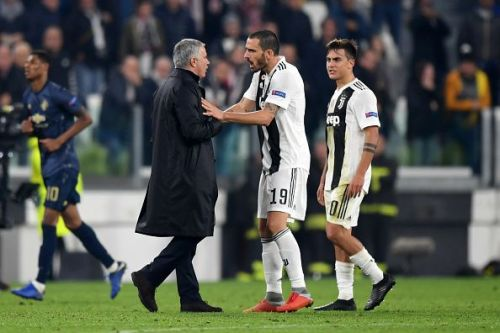 Bonucci and Dybala did not take kindly to Mourinho's taunts at full-time