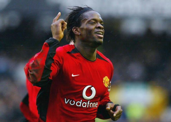 Saha was with Manchester United for 4 seasons