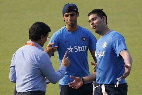 Image result for zahir, yuvraj and nehra