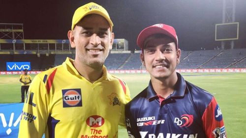 Sandeep Lamichchane(R) was one of the players who performed well but didn't receive much attention after the IPL