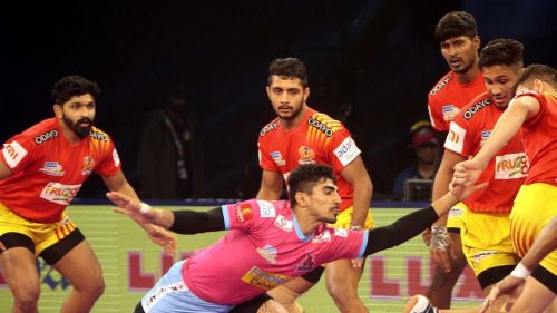 Nitin Rawal is a fine raider and has to be freed of his defensive duties for Jaipur's greater good.