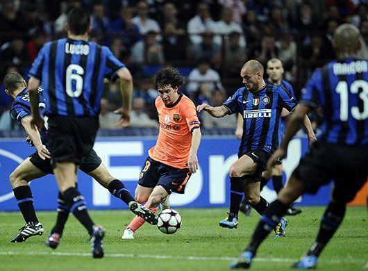 Inter vs Barcelona: UEFA Champions League Semi-finals 2010