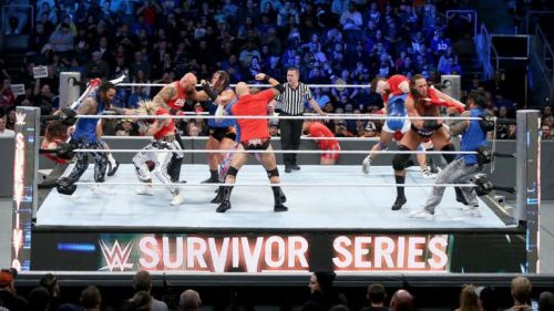 Image result for kick off show survivor series