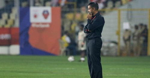 Pradyum Reddy was appointed as the head coach of FC Pune City midway in the season (Image Courtesy: ISL)