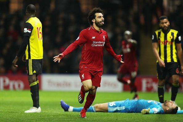 Salah led Liverpool against Watford and kept his team