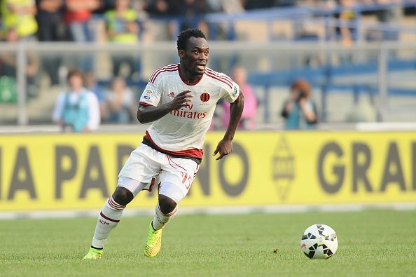 The 35-year-old defensive midfielder from Ghana has represented some of the best clubs in the past