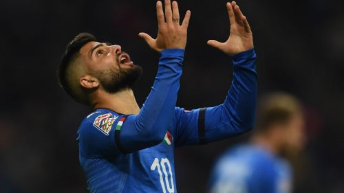 Insigne's frustrations sum up Italy's attacking play