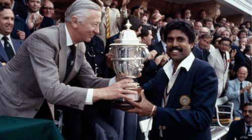 Kapil dev 1983 WC winning captain