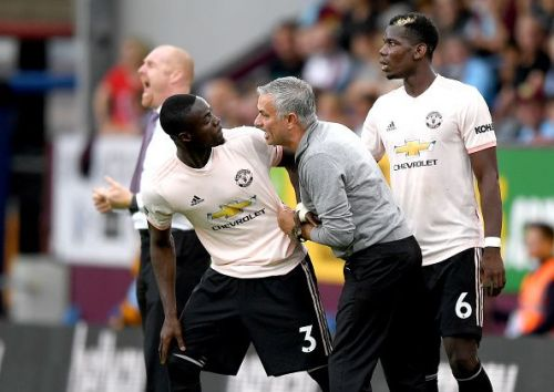 It looks highly unlikely that Jose Mourinho will ever go back to Eric Bailly