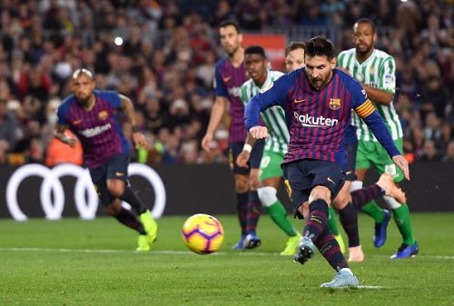 Messi's brace was not enough to save Barcelona from defeat