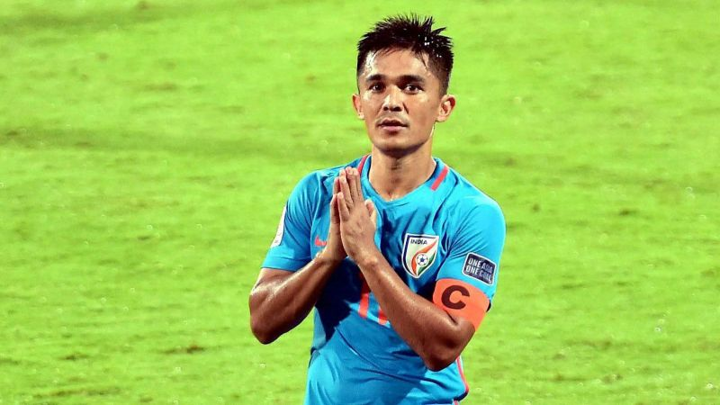 Sunil Chhetri will miss the Jordan friendly due to an ankle injury