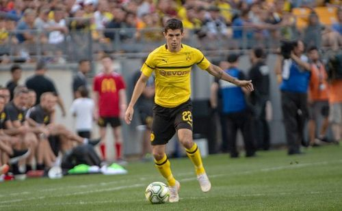 Christian Pulisic is reportedly Chelsea's number 1 January transfer target
