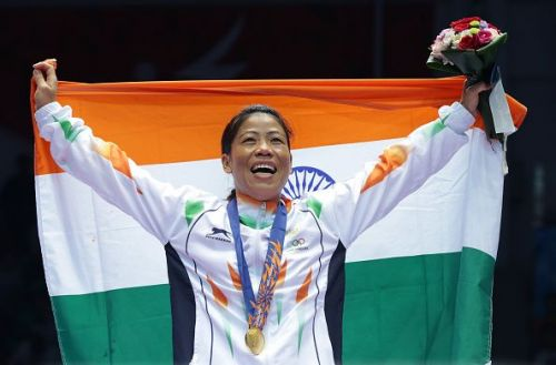 Five-time World Champion Chungneijang Mary Kom Hmangte