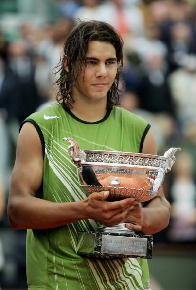 French Open 2005 winner Rafael Nadal