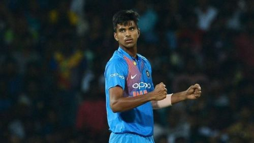 Washington Sundar is part of the Indian T20 squad for West Indies and Australia