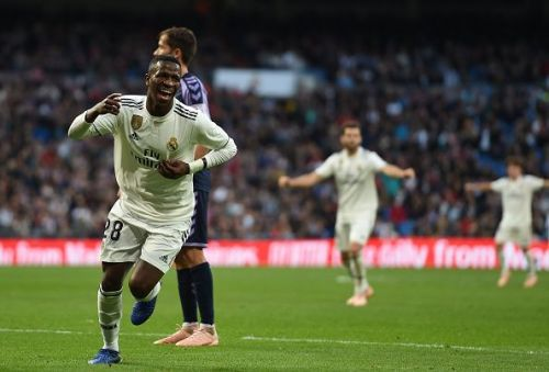 Real Madrid needed a wicked deflection off a Vinicius cross from Kiko to open the account for the Blancos on the night.