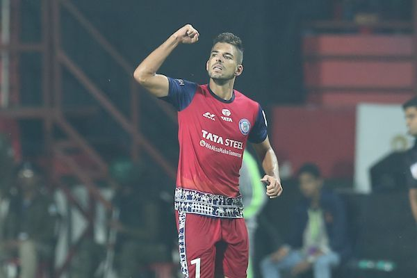 Morgado put Jamshedpur into the lead with a stunning strike [Image: ISL]