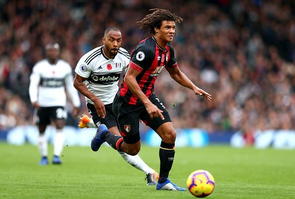 Nathan Ake in action during Bournemouth's away win over Fulham. (Picture source: Getty)